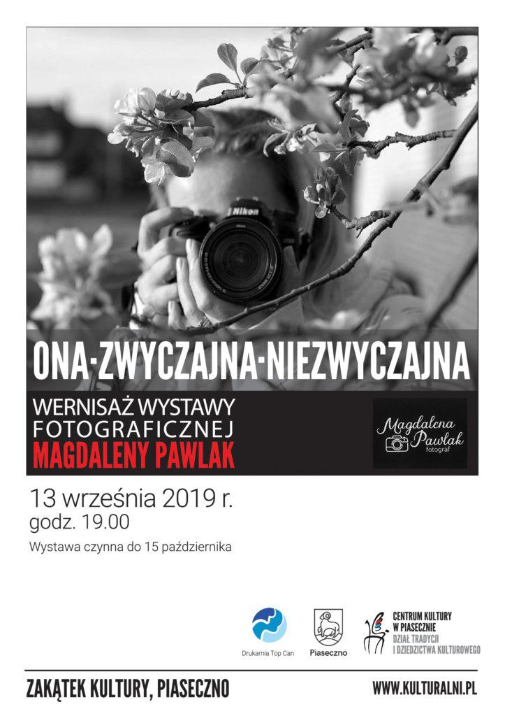 Wernisaż wystawy Magdaleny Pawlak