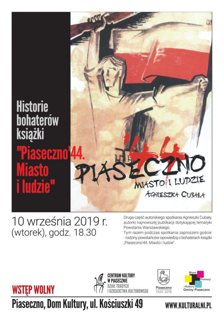 Spotkanie autorskie Piaseczno '44 Miasto iLudzie