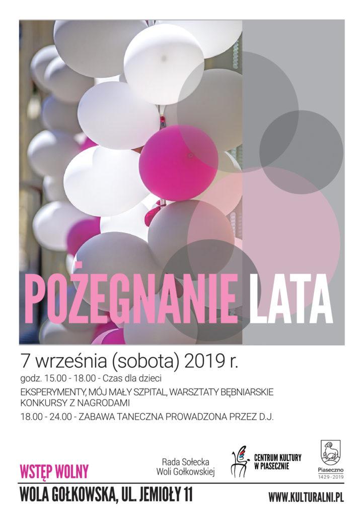 Pożegnanie Lata wWoli Gołkowskiej