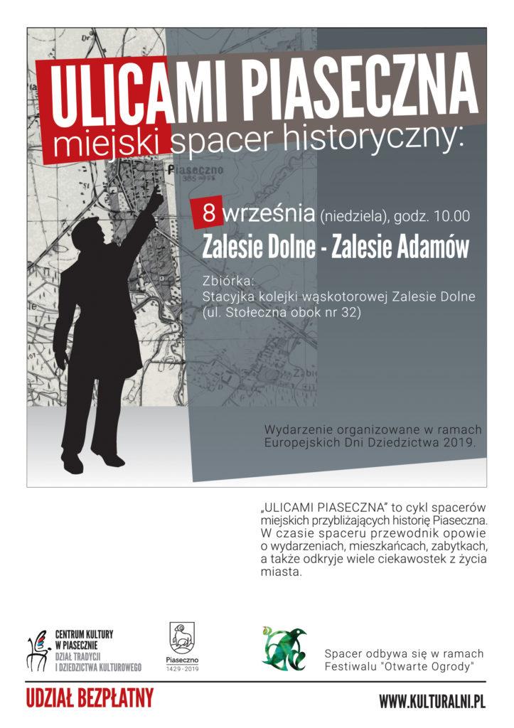 Ulicami Piaseczna - Zalesie Adamów